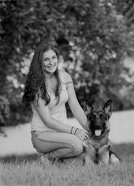 Autumn Dugan of Carlyn Kennels is a GSD handler.